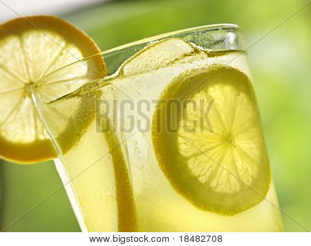 lemonade closeup
