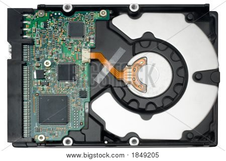 Internal Hard Disc W/ Path (Top View)