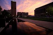 Courthouse Sunset