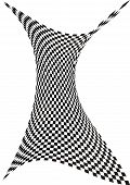 Op art in black and white