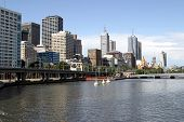 Melbourne Downtown, Australia,