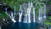 image of naturel  - Waterfalls of the Reunion island - JPG