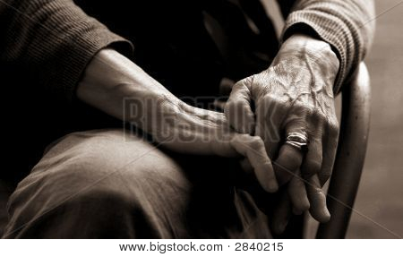 Elderly Lady'S Hands