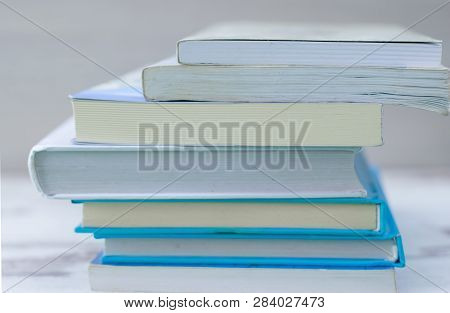 Book Many Books Stack Of