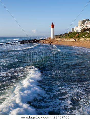 lighthouse in Umhlanga, Durban, South Africa