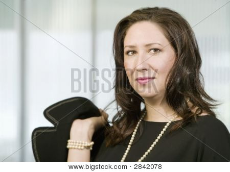 Confident Hispanic Woman