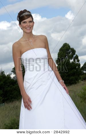 Bride Outside