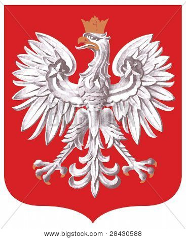 Poland coat of arms in vector format