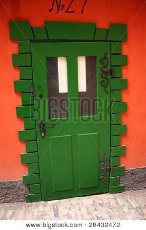 Door On Golden Lane