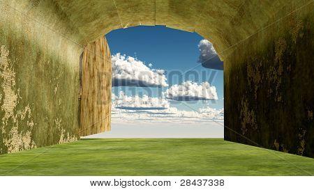heaven entrance