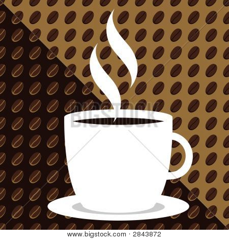 Coffee Bean Background.Eps