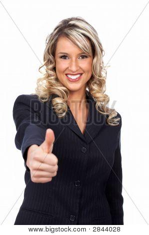 Friendly Businesswoman