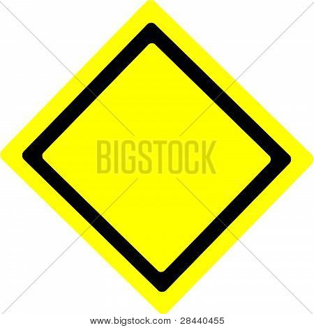 Warning Sign Base