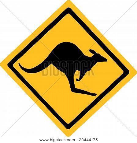 Ausralian Kangaroo Sign