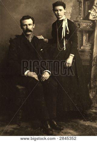 Vintage 1888 Photo