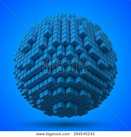 Spherical Data Block Made With