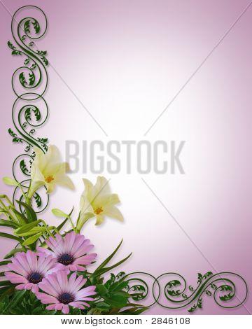 Spring Floral Corner Design