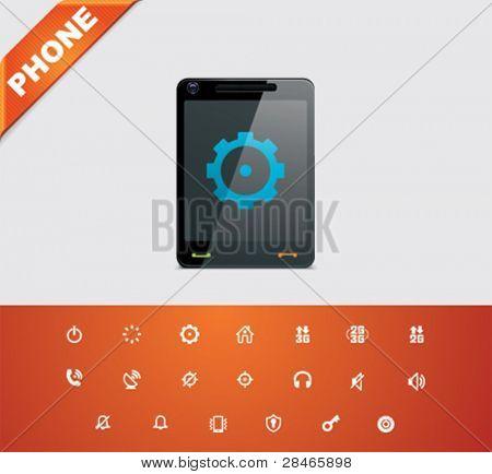 Universal glyphs 15. Phone symbols 2