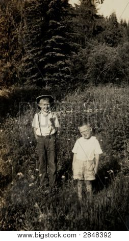 Vintage Family Photo 1930
