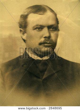 Vintage 1883 Photo