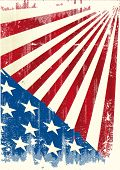 American grunge background. an american grunge background for a poster