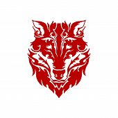 Fox Head Vector Icon On White Background. Fox Head Icon In Modern Design Style. Fox Head Vector Icon poster