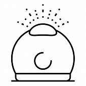 Humidifier Aromatherapy Icon. Outline Humidifier Aromatherapy Vector Icon For Web Design Isolated On poster