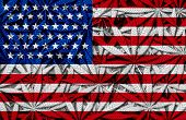 United States Cannabis Concept And Usa Marijuana Law And Legislation Social Issue As Medical And Rec poster