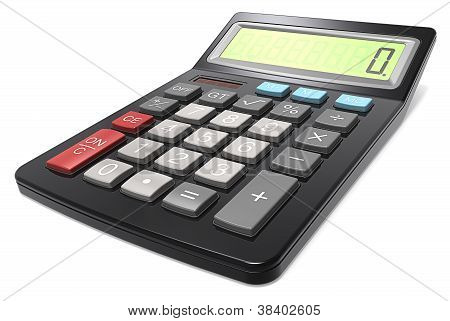 Black Calculator.