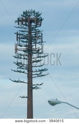 Cell Tower Camo With Light