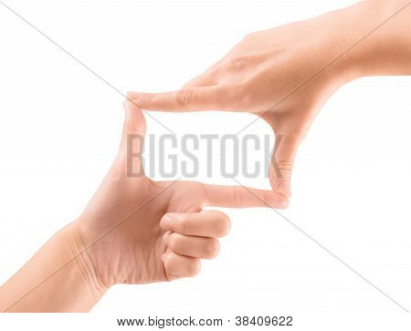 Composition Gesture Isolated