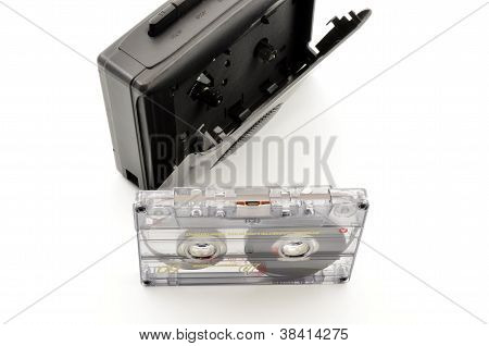 80´s and Walkman cassette tape