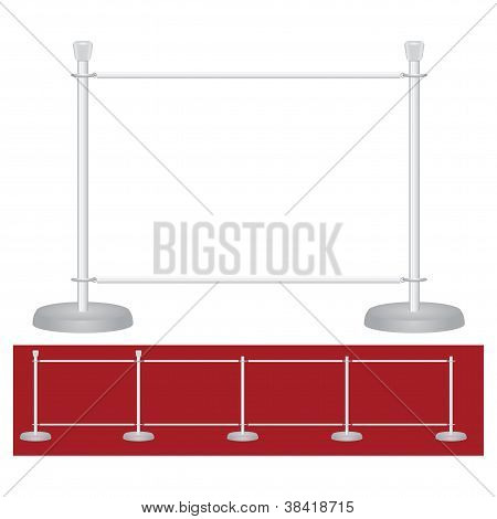 Stand Exhibition Barrier