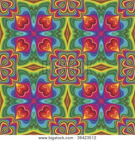 Pop art pattern