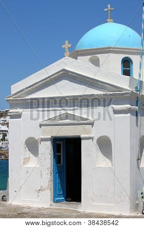 Church of Angios Nikolaos in Mykonos