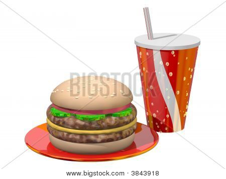 Hamburger Meal