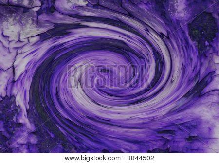 lila Galaxie