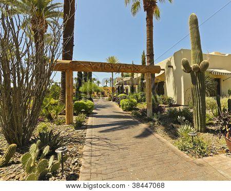 The Entrance To The Wigwam, Litchfield Park, Arizona