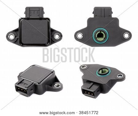 Collage Of Four Throttle Position Sensor