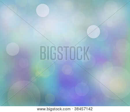 Abstract Blurred Holiday Background With Beaming Shine