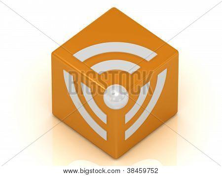Rss Symbol Cube