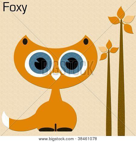 Foxy Cat Clip Art