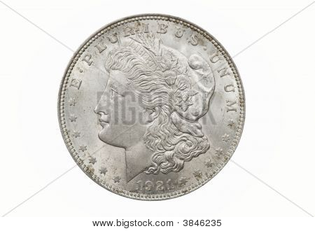 Single Morgan Dollar