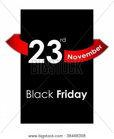 Black Friday Sale Tag Design