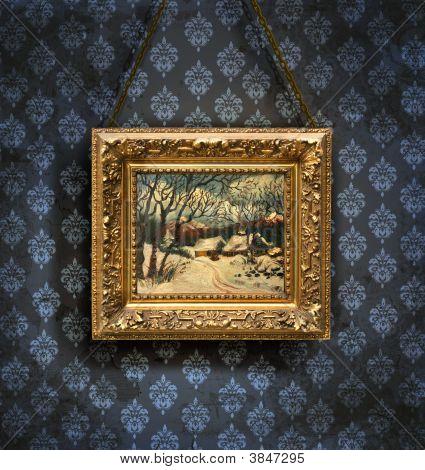 Grungy Antique Wallpaper