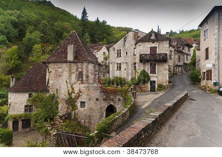 Medieval French town