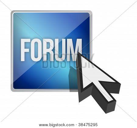 Forum Button And Cursor