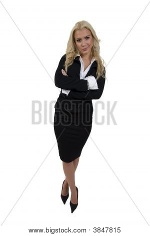 Standing Businesswoman