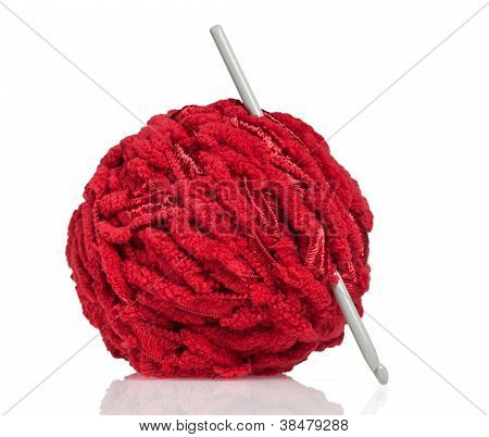 Textile: Red Wool