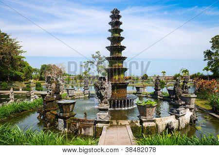 Royal Water Palace In Tirthagangga, Bali, Indonesia